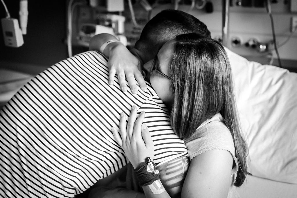 Droombevalling of toch niet - herenigd - Pure Life Geboortefotografie