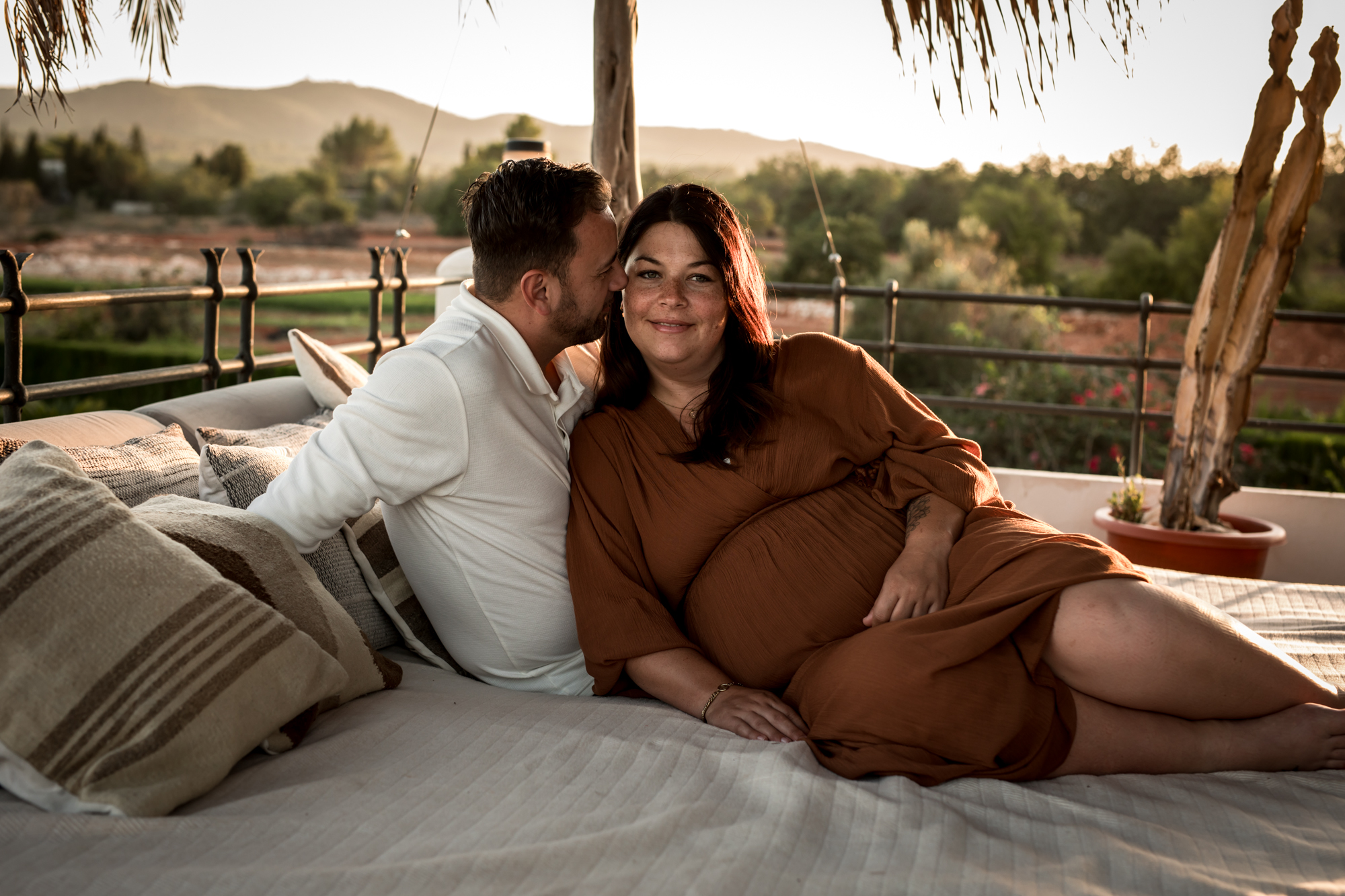 Zwangerschapsreportage op Ibiza deel 1