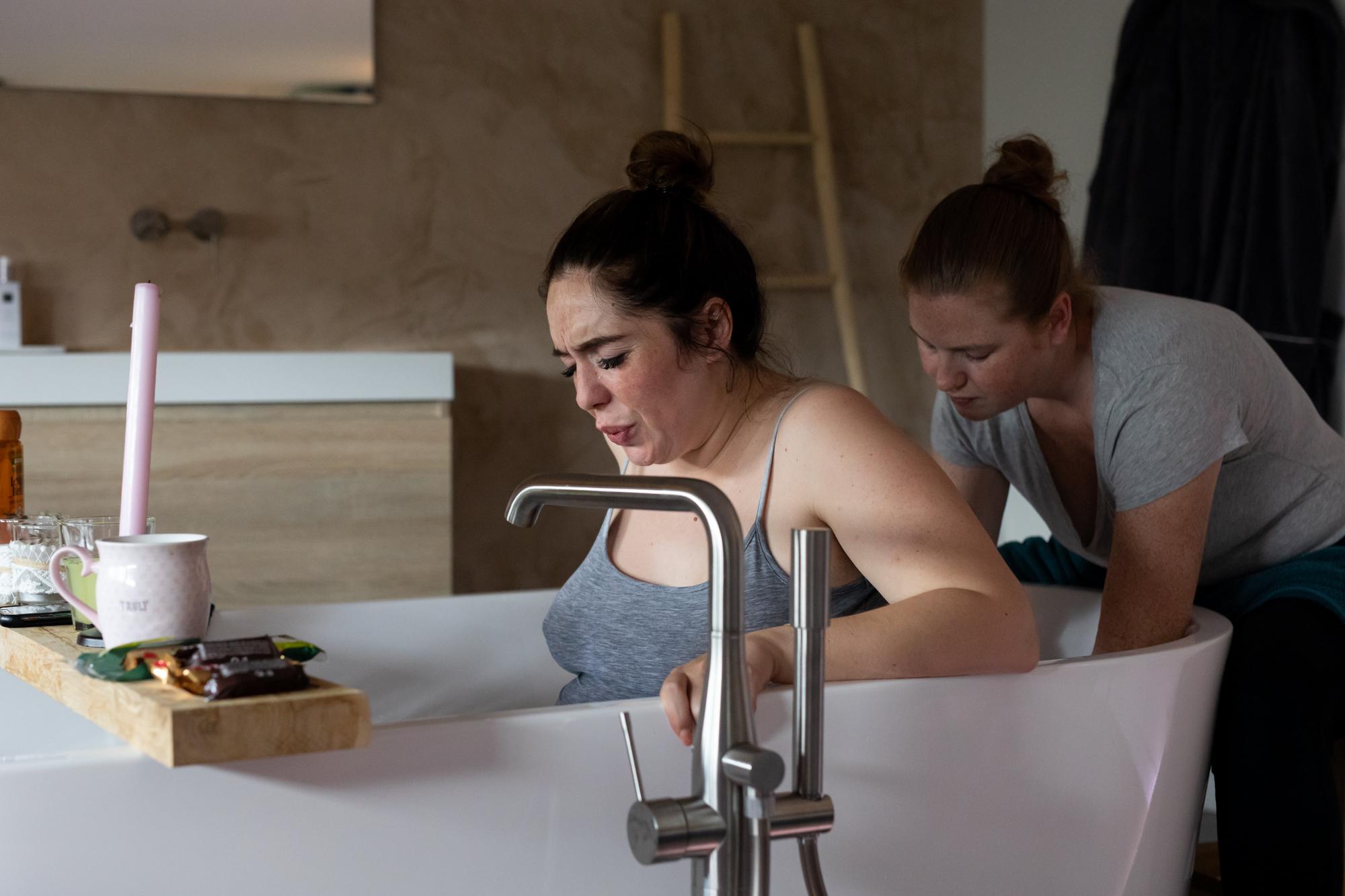 Badbevalling - bevallen in bad