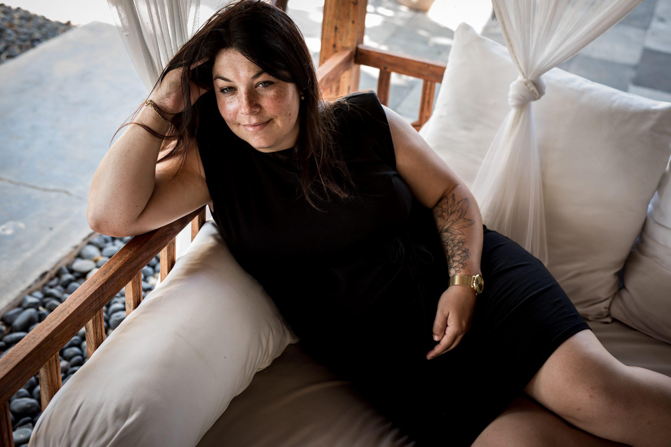 Nicole - Zwangerschapsreportage Ibiza - Pure Life Geboortefotografie