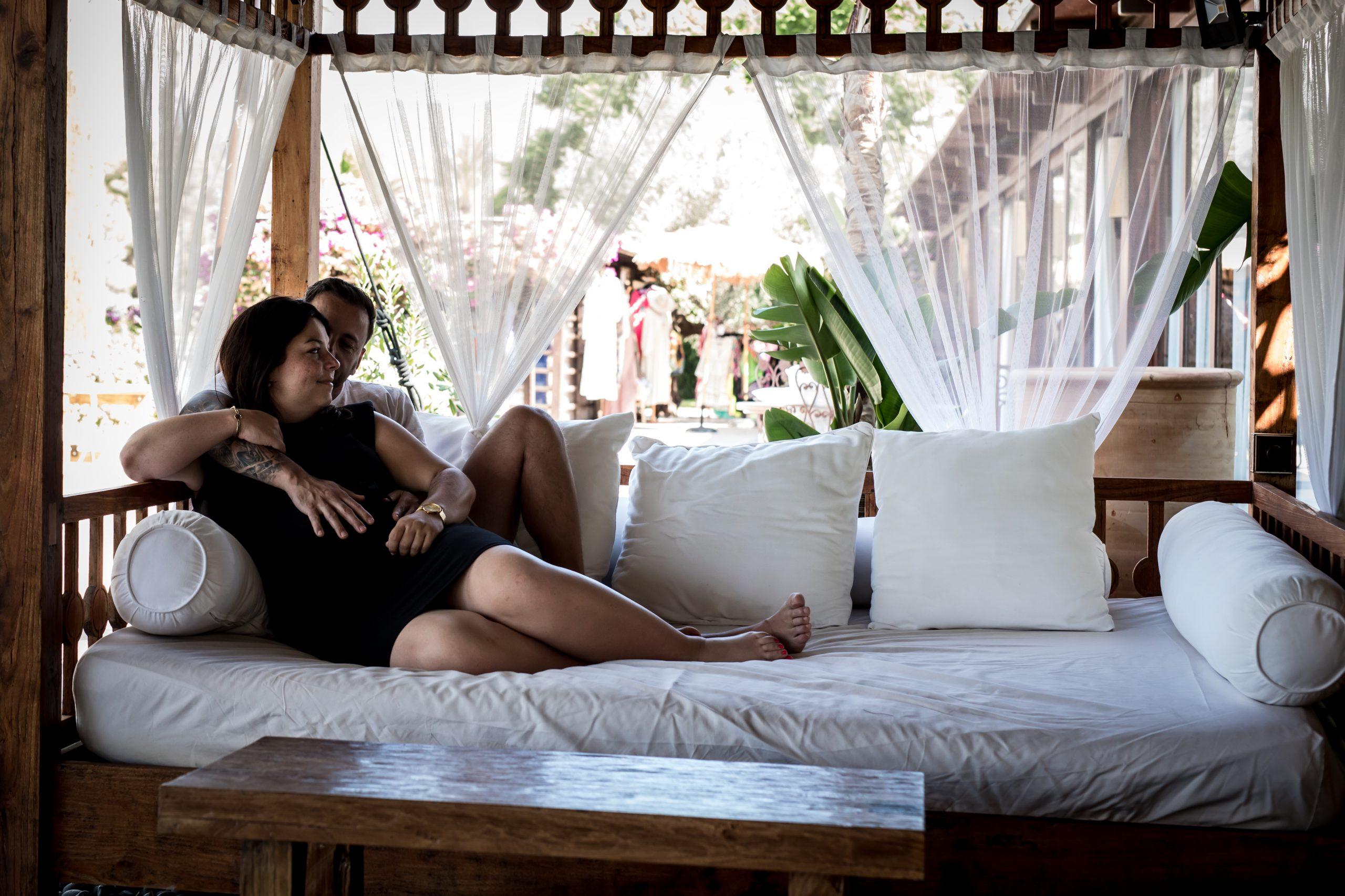 Zwangerschapsreportage Ibiza - Pure Life Geboortefotografie
